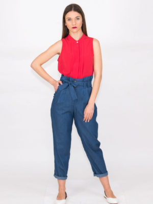 Chaton Denim Pants