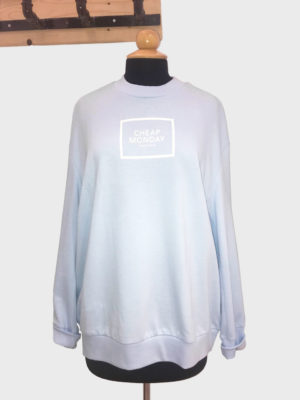 Cheap Monday Con Square Logo Sweat