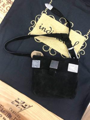 Individual Art Leather Tightrope Belt Bag