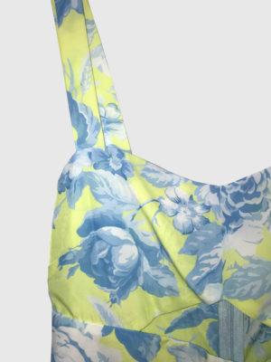 Milkwhite Jumpsuit Floral