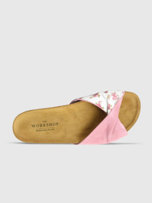 the workshop shoes saint tropez pink floral