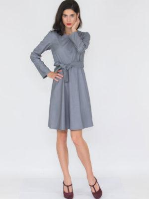 Chaton Γκρι Φόρεμα