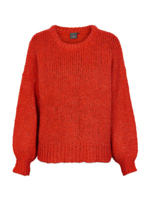 Ichi Ines Knit Orange
