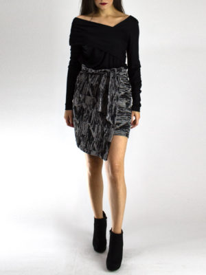 Ofilia's Skirt Black & White