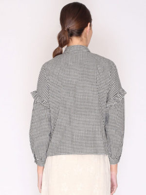 Pepaloves Gingham Shirt Black