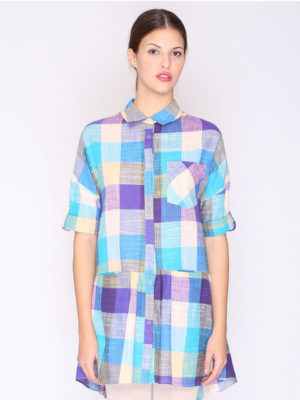 Pepaloves Plaid Dress