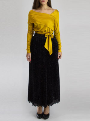 Arpyes Toluca Pleated Skirt