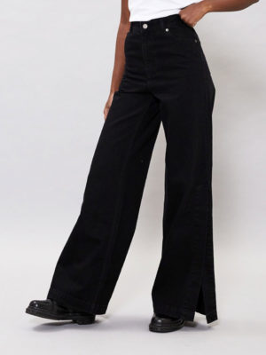 Dr Denim Black Trousers