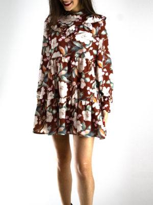 Milkwhite Φόρεμα με Λουλούδια