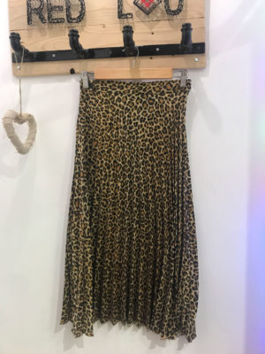 Milkwhite Animal Print Skirt