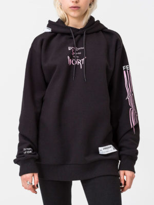 Cheap Monday Black Hoodie