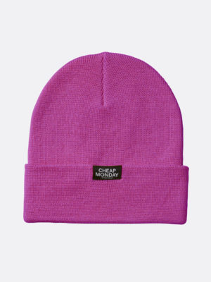 Cheap Monday Purple Beanie