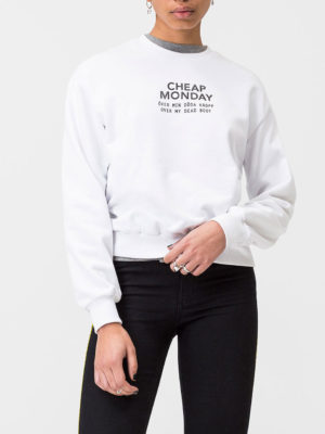Cheap Monday White Sweater