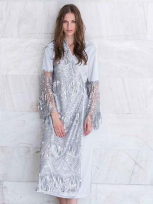 Dyemonde Kimono Dress