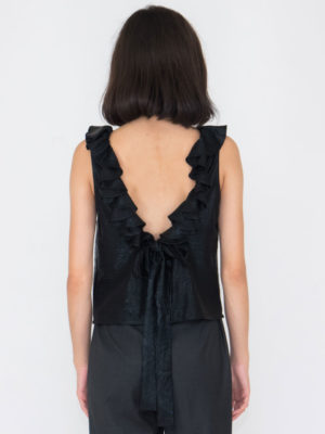 Chaton Open Back Top