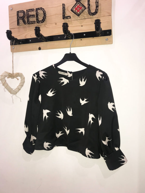 Milkwhite Swallow Top