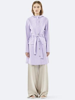 Rains Curve Jacket Lavender