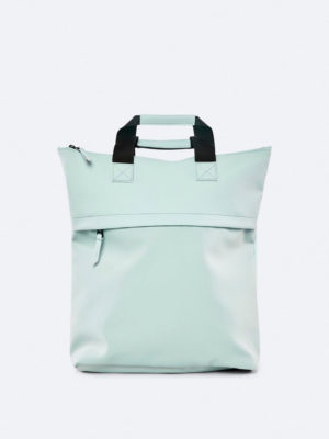 Rains Tote Backpack Dusty Mint