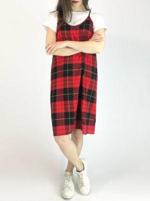 Cheap Monday Καρό Φόρεμα