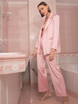 c566338f5178 Milkwhite Dusty Pink Blazer Milkwhite Dusty Pink Blazer