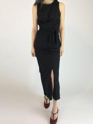 Ofilia's Maxi Black Dress