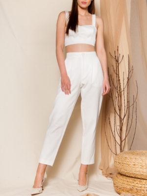 Ananke Lavinia White Pants