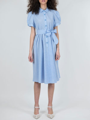 Chaton Καρό Φόρεμα