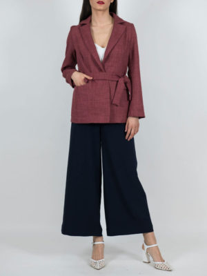 Chaton Blazer with Belt