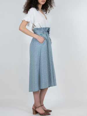 Chaton Grey Skirt