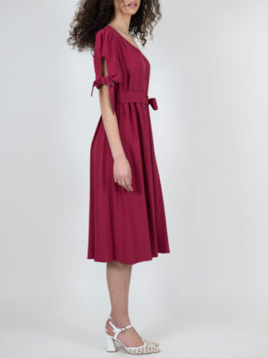 Chaton Red Ochre Dress