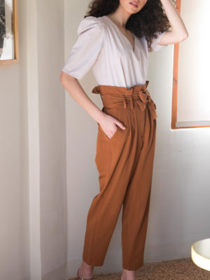 Chaton Tobacco Trousers