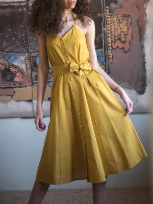 Chaton Yellow Dress