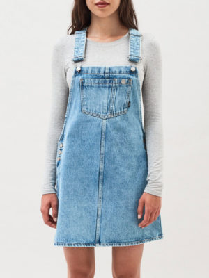 Dr Denim Dungaree Dress