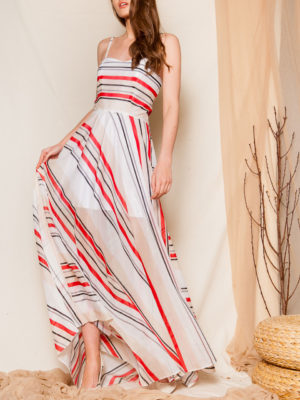 Ananke Gostanza Striped Dress