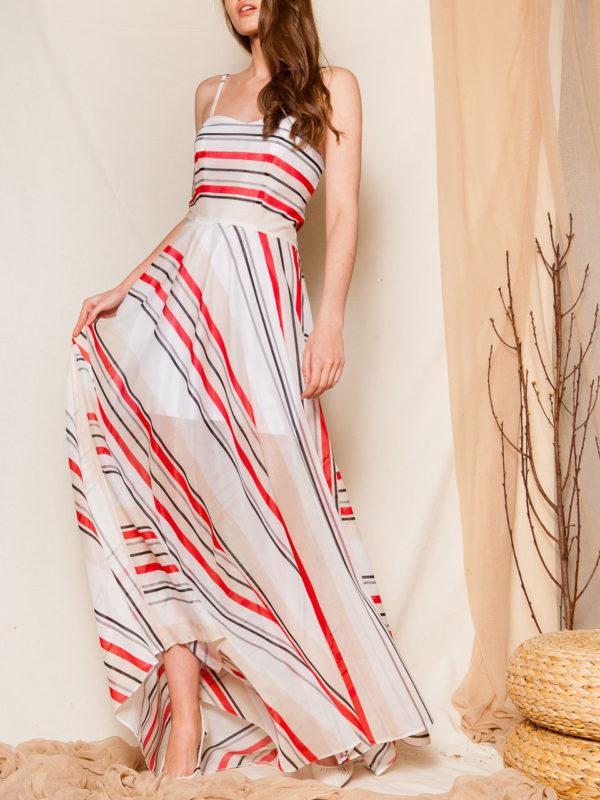 Ananke Gostanza Striped Dress