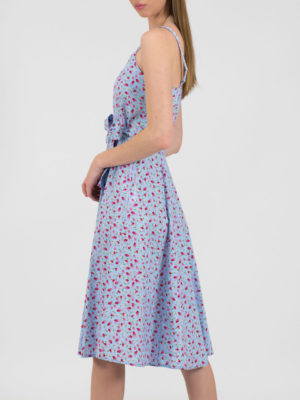 Chaton Floral Dress Blue