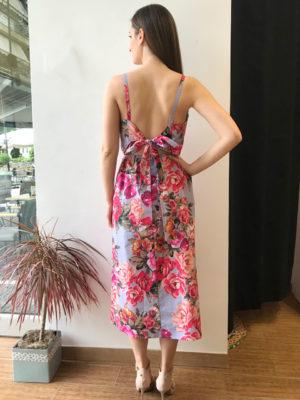 d54ff1ab8fe4 Milkwhite Φλοράλ Ροζ Φόρεμα Milkwhite Φλοράλ Ροζ Φόρεμα