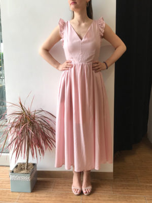 Milkwhite Dusty Pink Dress