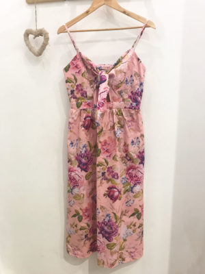 1e2158356bd Milkwhite Floral Pink Dress ...