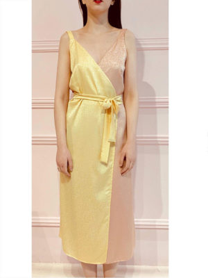 Milkwhite Κρουαζέ Φόρεμα