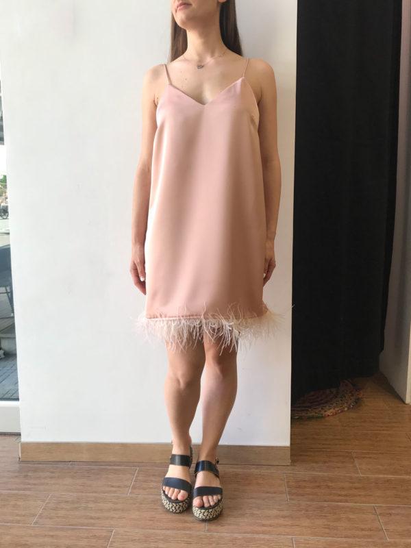 Milkwhite Nude Dress