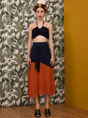 Arpyes Pleated Skirt