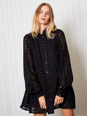Ghospell Black Dress
