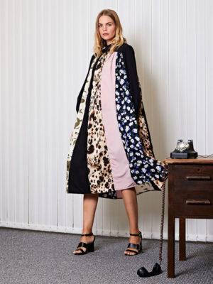Ghospell Print Midi Dress