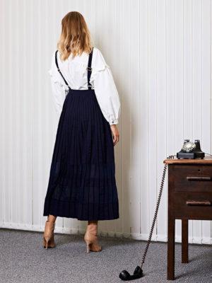 Ghospell Uniform Maxi Dress