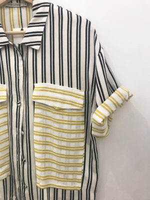 Milkwhite Striped Shirt