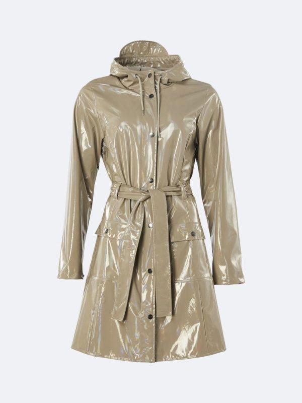 Rains Holographic Curve Jacket