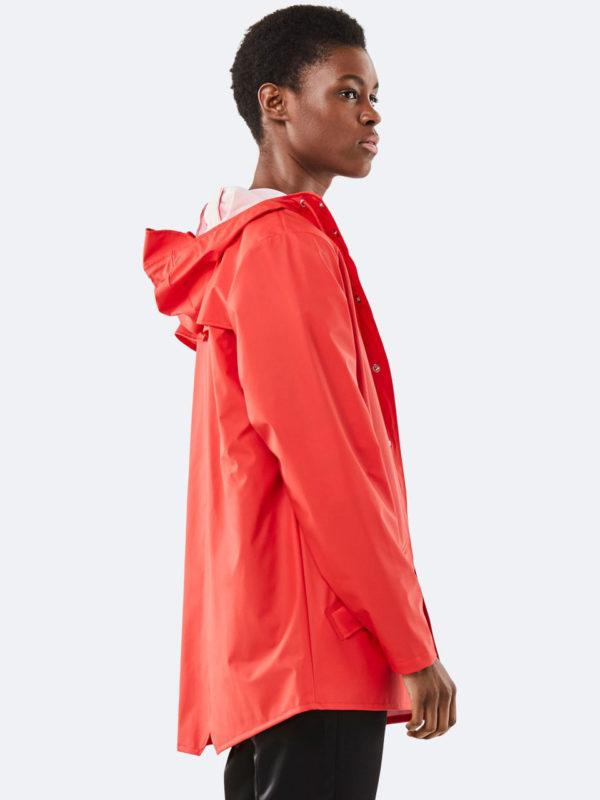 Rains Jacket Red