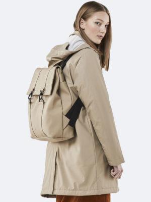 Rains Msn Backpack Beige