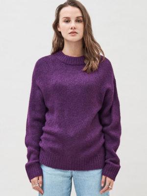 Dr denim Kyoko Knit Purple